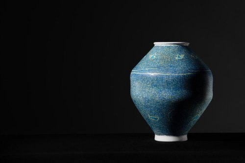 A contemporary Moon Jar by Young Gi Seo