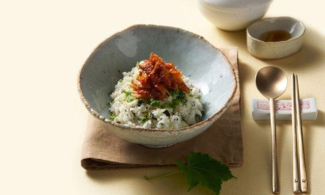 K-cuisine: hwangtaebap