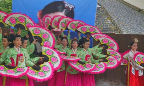 Fan Dance at Kingston Korean Festival