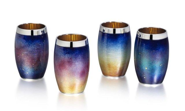 Kyosun Jung: Sky Series Enamel Shot Cups