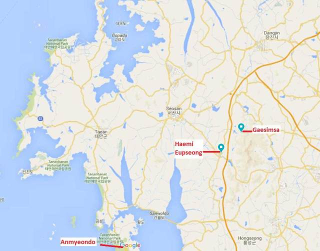 Seosan map