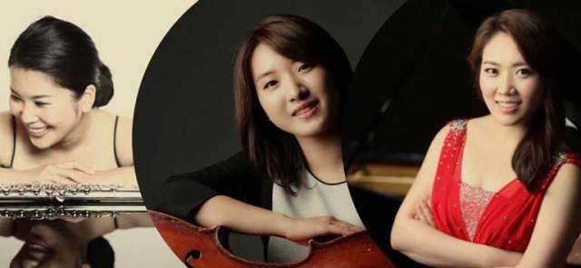 Sooyeon Lee (Cello), HyunJeong Hwang (Piano), Minhee Cho (Flute)