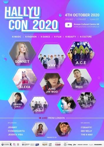 Hallyu Con 2020 Line-up