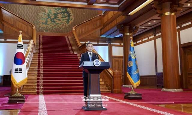 President Moon 2021 New Year speech