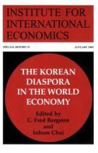 Cover artwork for book: The Korean Diaspora in the World Economy