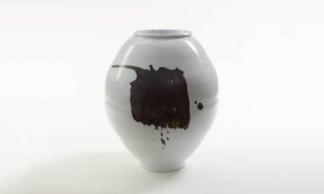 Moon Jar by Ree Soo-Jong at Messums Harrogate