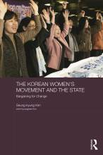Cover artwork for book: The Korean Women's Movement and the State: Bargaining for Change