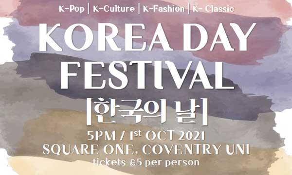 Korea Day festival in Coventry