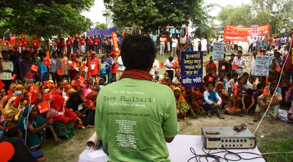 Rally against GCM