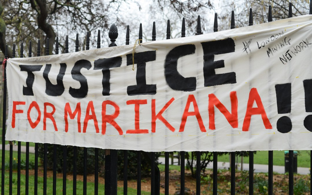 Protest Lonmin's AGM: Justice for Marikana