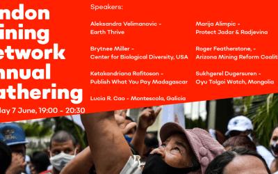 Recording: London Mining Network Annual Gathering 2021