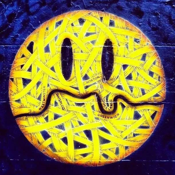 London Street Art Mural