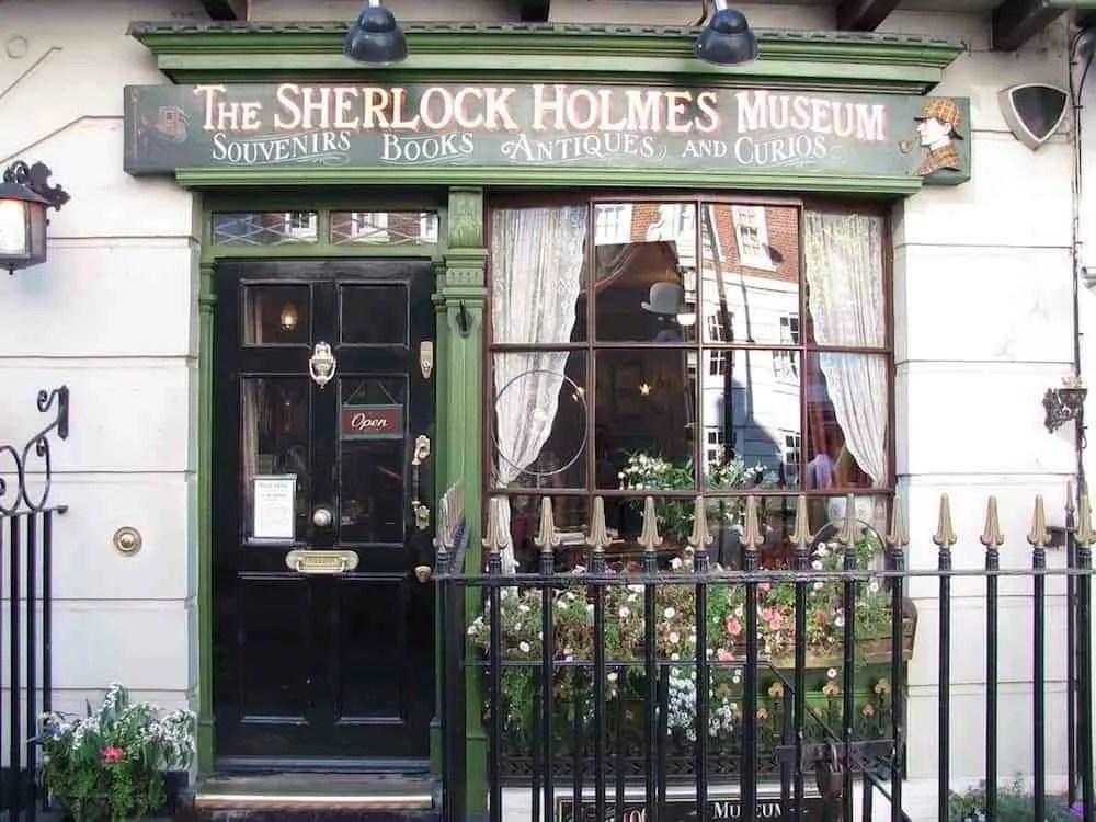 Sherlock Holmes Museum at 221b Baker Street