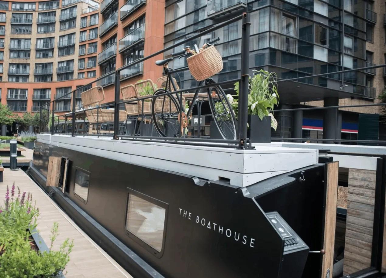London Houseboats - The Boathouse