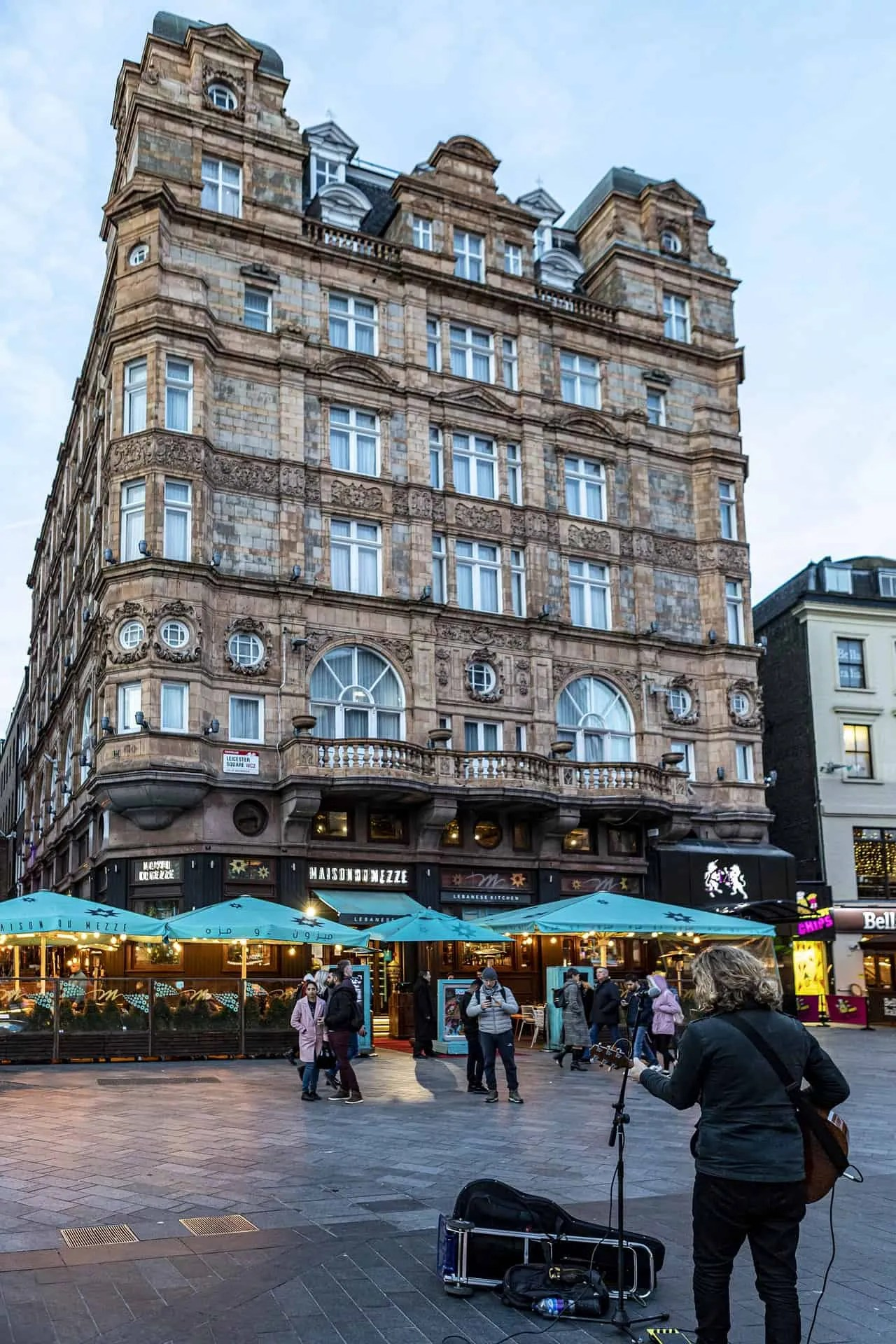 London Itineraries - Leicester Square