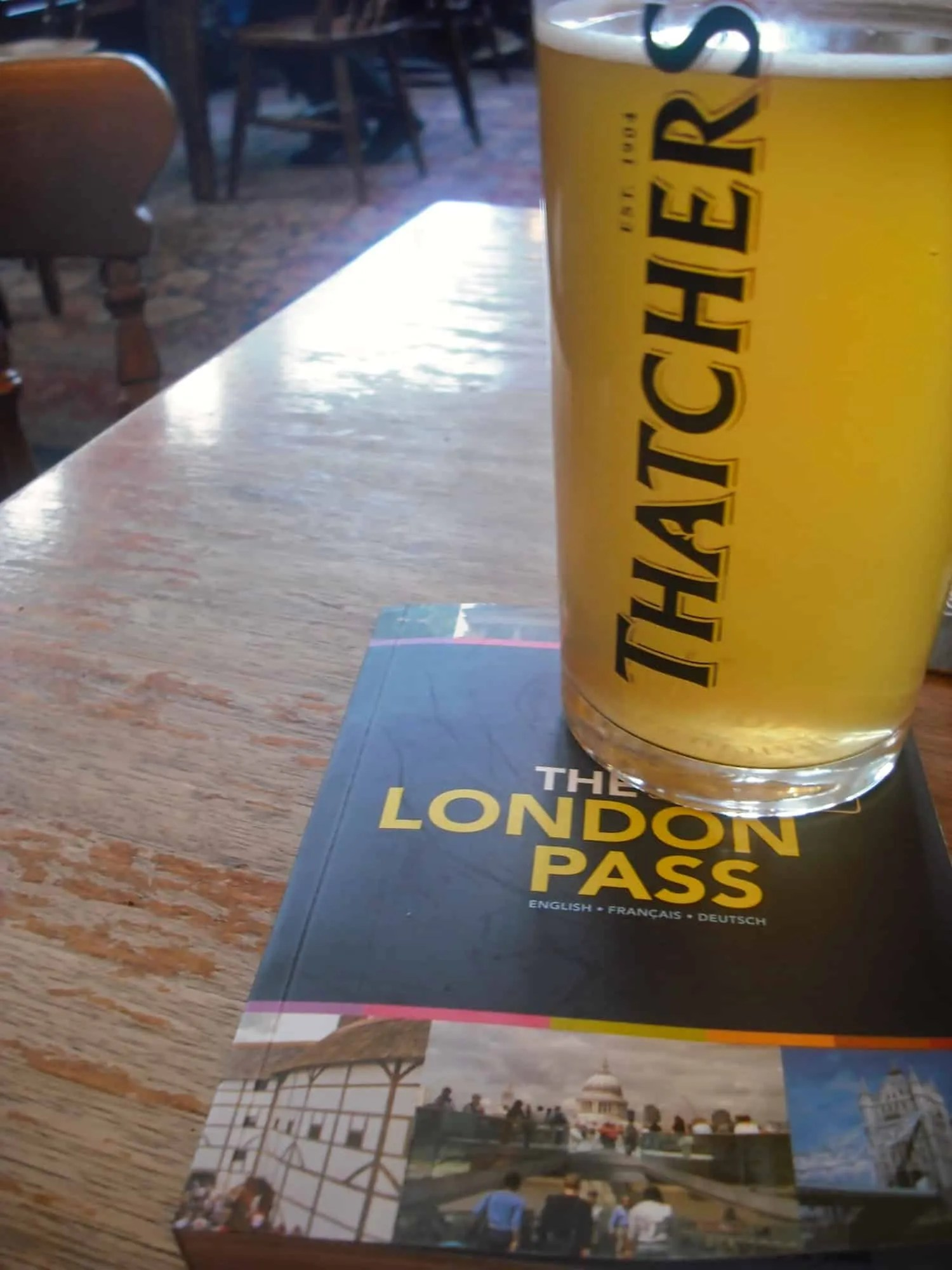 London Pass Review - Pint