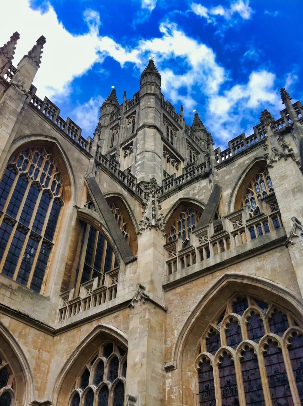 Bath Day Trip - Exterior of the Bath Abbey