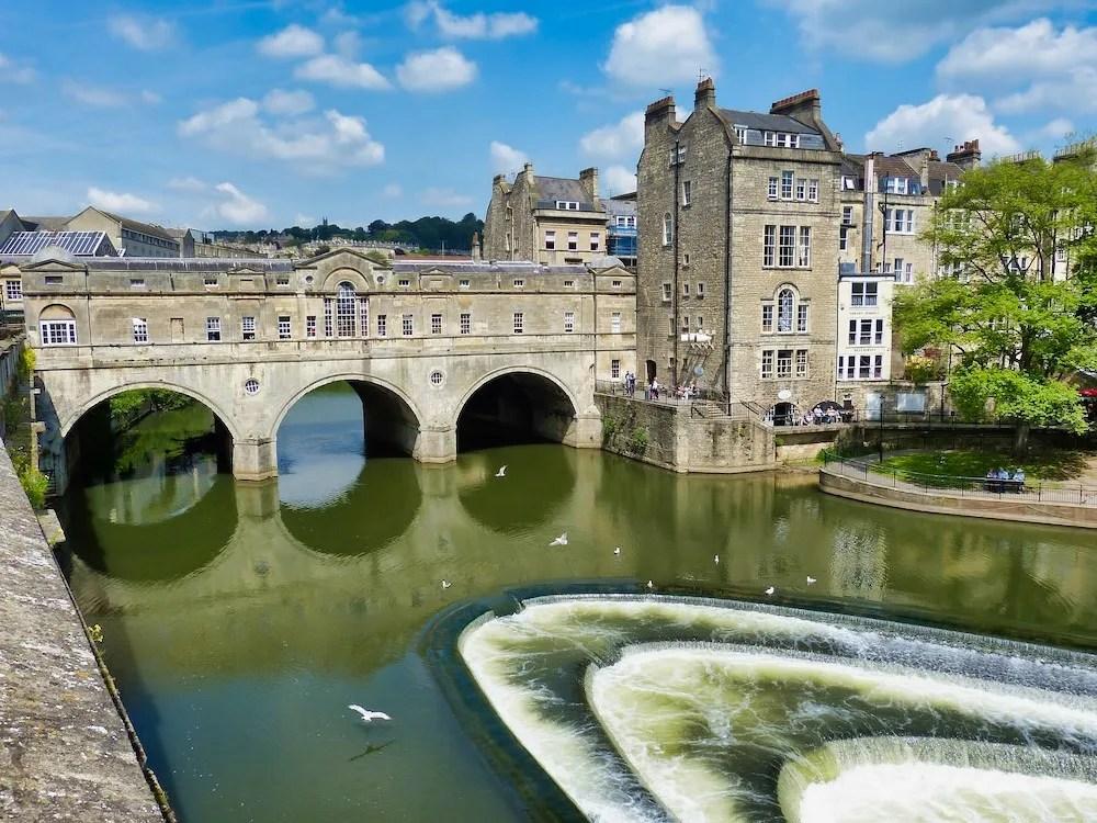 Bath Day Trip - Bridge and River View