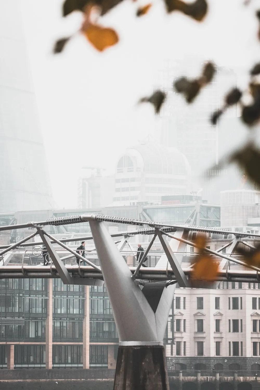 Millennium Bridge in the Autumn