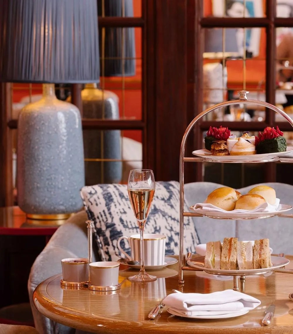 Afternoon Teas in London - The Coral Room