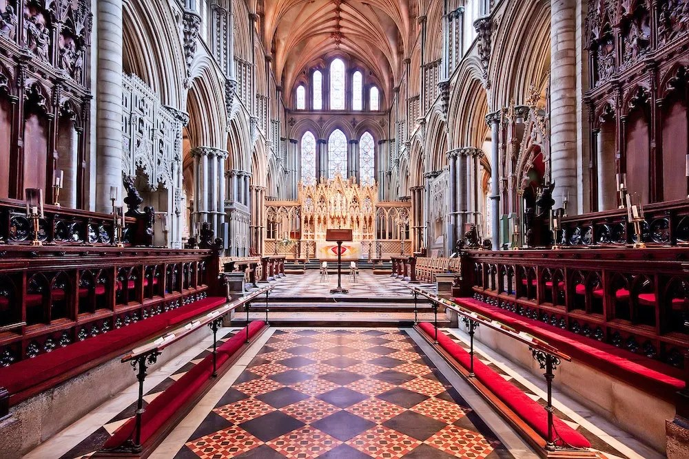 Cambridge Day Trip - King's Chapel