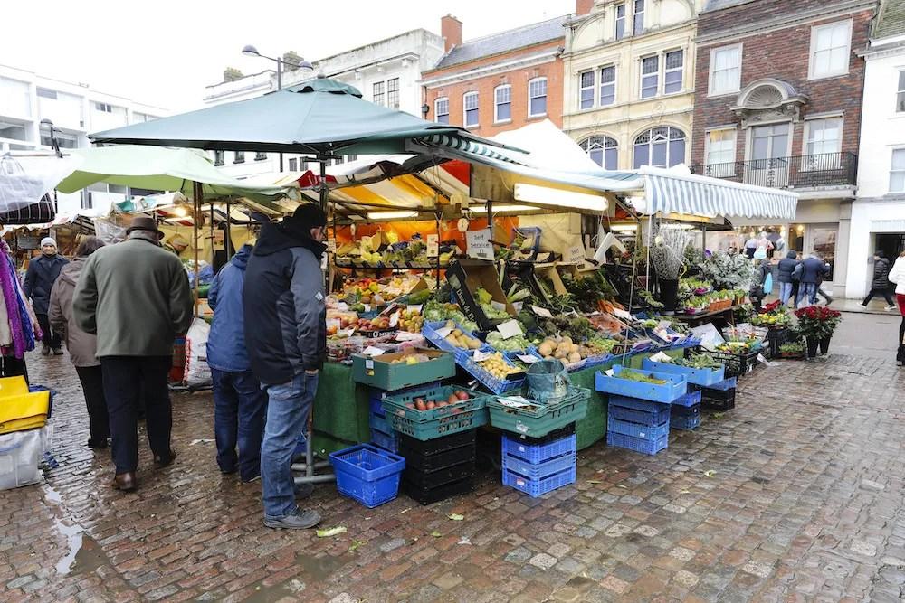 Cambridge Day Trip - Market Square