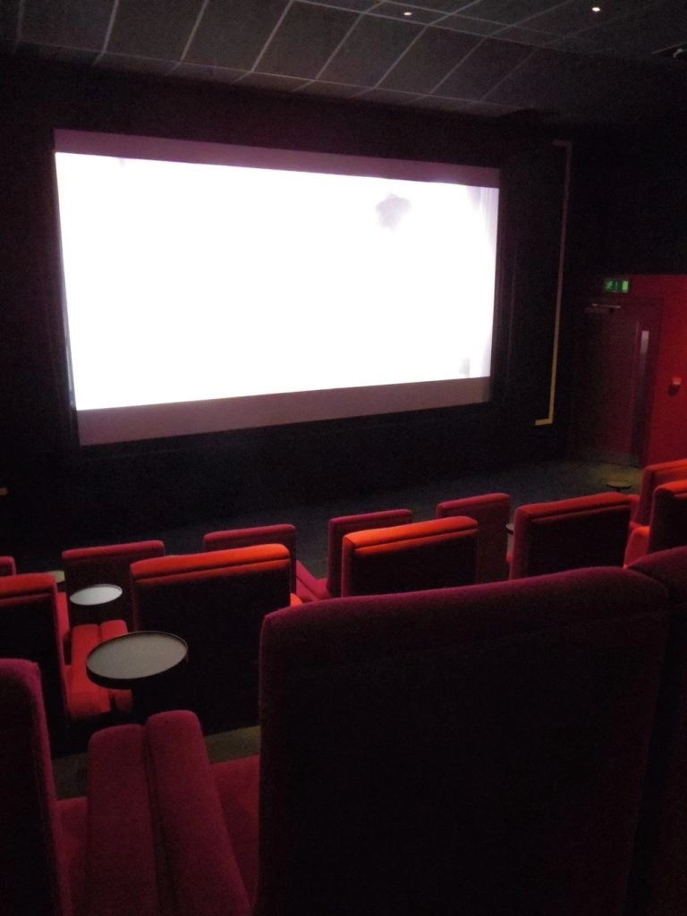 London on a Rainy Day - Movie Theater