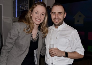 Olivia Byrne and Head Chef Matt Laville