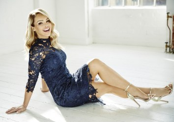 Navy Sleeved Crochet Dress, -ú39.95, The Katie Piper Collection with Want That Trend.Com (Lifestyle) (2)