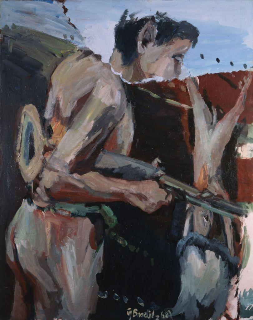 Georg Baselitz at Michael Werner London