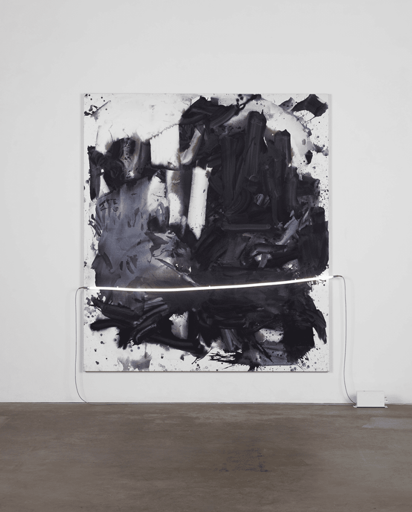 Mary Weatherford, Gagosian Gallery, London Exhibition Guide