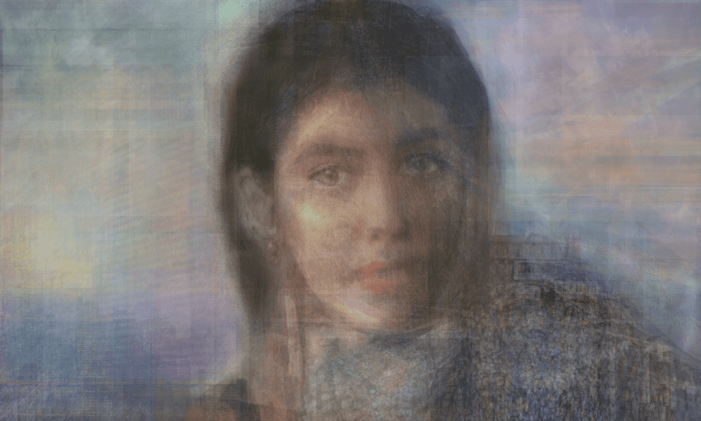 Christopher MacNeil, Onem, 2020 , Digital mixed media, 63.5 x 40.6 cm, 25 x 16 in, © The Artist