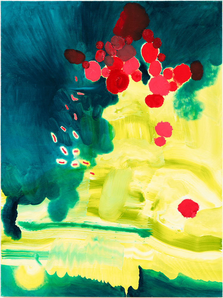 Christine Turner, Float, 2019, Acrylic and oil on canvas, 91.4 x 121.9 cm, £1,580, © The Artist