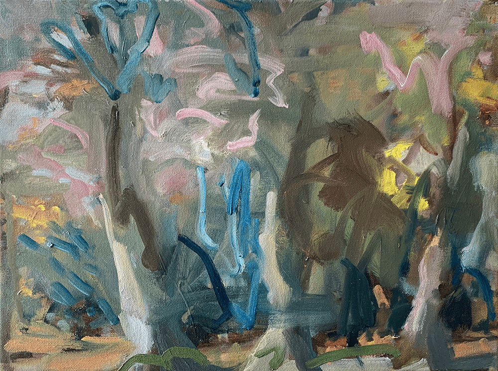 Lucy Threlfall, Confused Magic, 2020, Oil on canvas, 30 x 40 cm, Price Available Upon Request, © The Artist