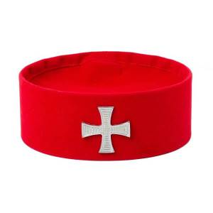 Knights Templar Cap with Badge