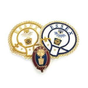 mark provisional undress and dress badge and collar jewel