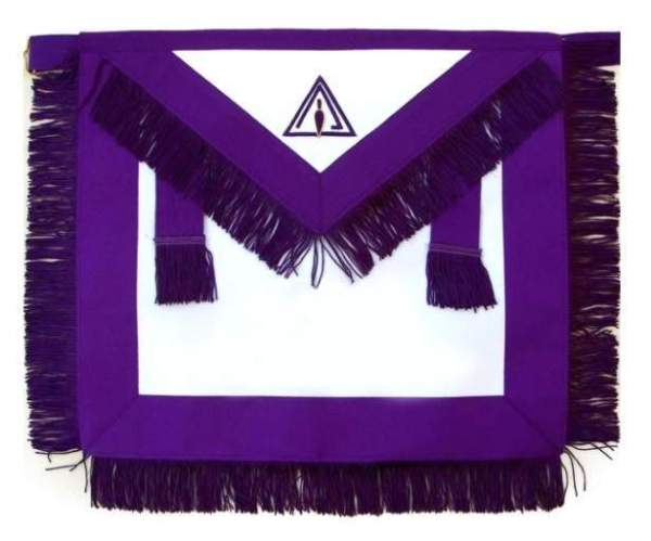 Masonic Royal & Select Master RSM Council Member Apron