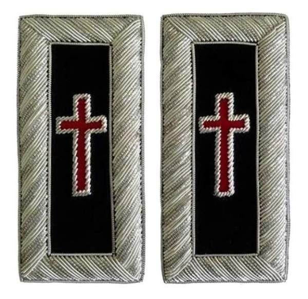 Knight Templar shoulder boards Sir Knight-londonregalia.com
