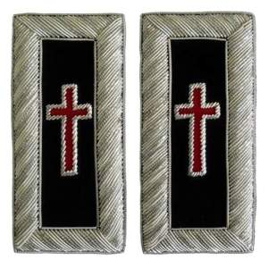 Knight Templar shoulder boards Sir Knight-londonregalia.com