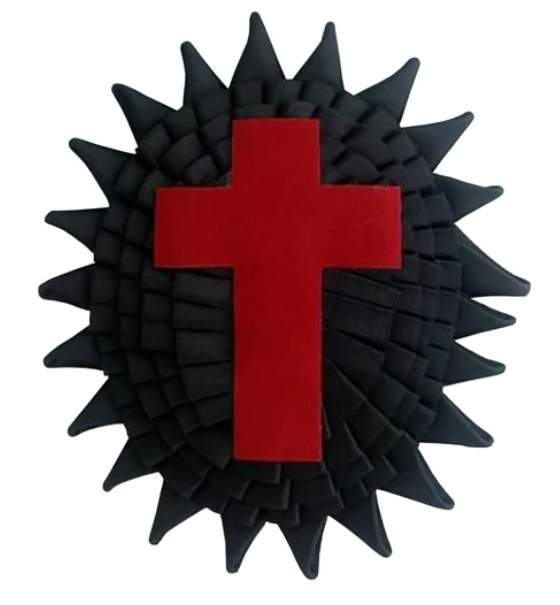 Knights Templar Chapeau Rosettes Sir Knight illinois regulation