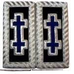 Knights Templar Shoulder Boards – Bullion Embroidered grand encampment blue