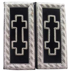 Knights Templar Shoulder Boards - Bullion Embroidered grand encampment