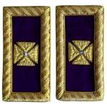 Knight Templar Shoulder Boards Past Grand Commander-londonregalia.com
