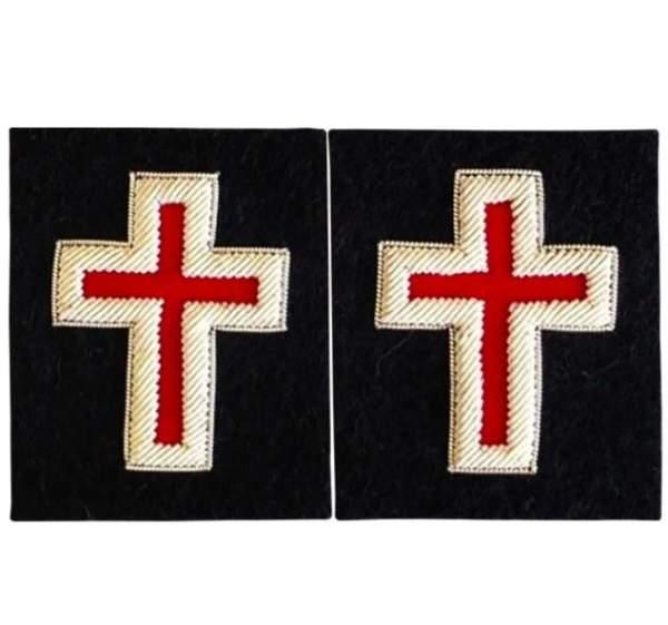 Knights Templar Sleeve Crosses sir knight