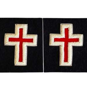 Knights Templar Sleeve Crosses sir knight