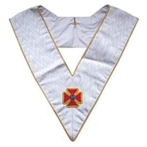 Masonic Officer's collar - AASR - 31st degree