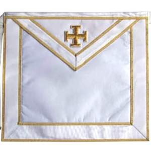 Masonic Scottish Rite Satin apron - AASR - 31st degree