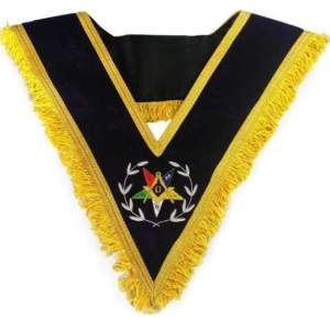 Worthy Patron Order of the Eastern Star OES Collar