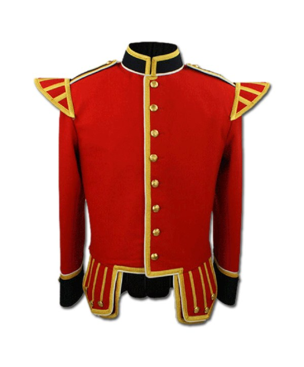 Red Military Drummer Doublet