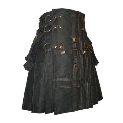 Gothic kilt for men